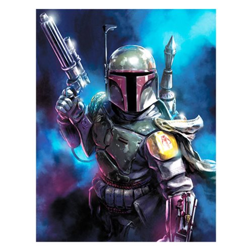 Star Wars From the Shadows by Santi Casas Canvas Giclee Art