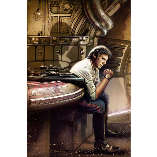 Star Wars Han Solo Redemption Canvas Giclee Art Print