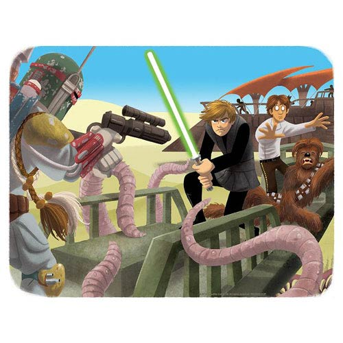 Star Wars Luke to the Rescue Paper Giclee Print