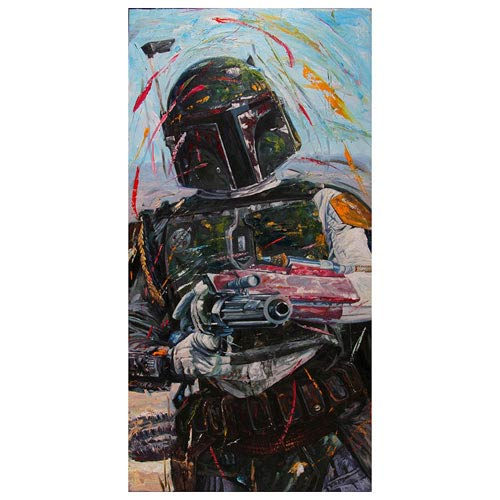 Star Wars Boba Fett A Good Day to Die Canvas Giclee Print