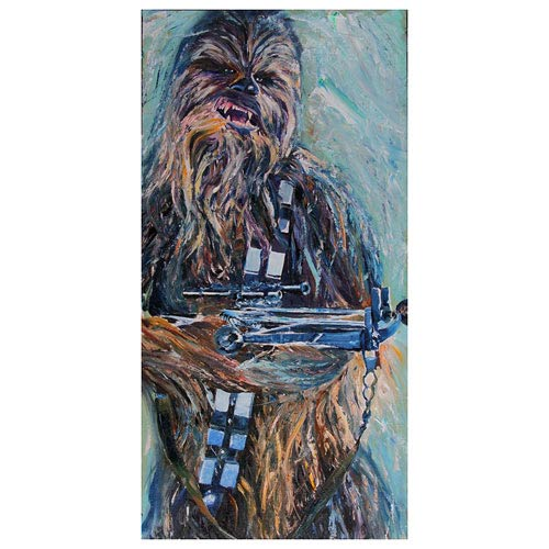 Star Wars The Great Chewbacca Paper Giclee Print