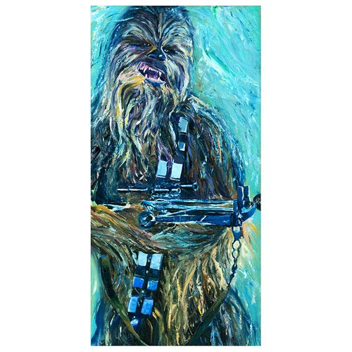Star Wars The Great Chewbacca Canvas Giclee Print
