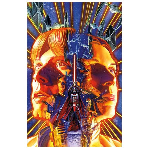 Star Wars Comic Book Issue #1 Cover Canvas Giclee Print