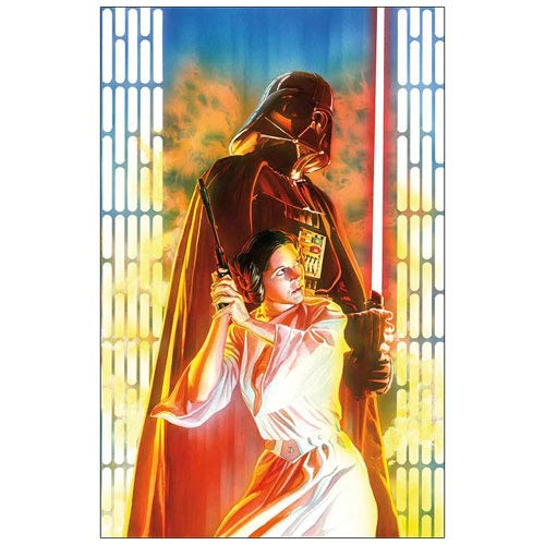 Star Wars Comic Book Issue #4 Cover Paper Giclee Print