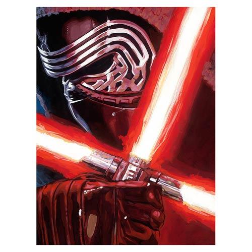 Star Wars VII Dark Warrior Kylo Ren Canvas Giclee Art Print