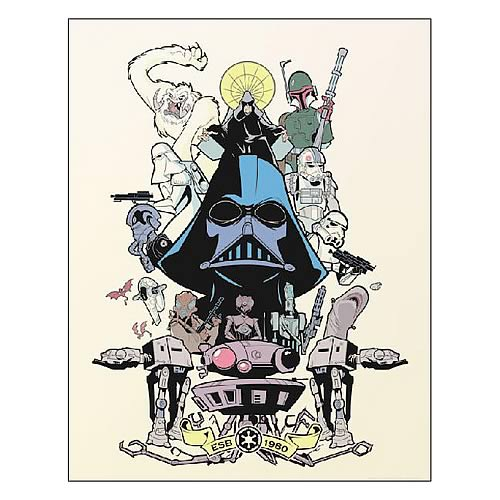 Star Wars Power & Glory Forever Paper Giclee Print