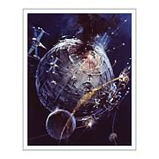 Star Wars Death Star Battle Fine Art Lithograph