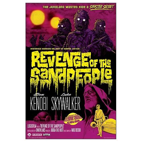 Star Wars Revenge of the Sandpeople Fine Art Lithograph