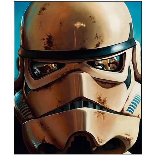 Star Wars Sandtrooper Large Canvas Giclee Print