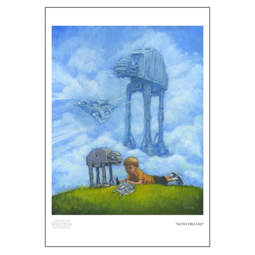 Star Wars Hoth Dreams by Christian Slade Paper Giclee Print