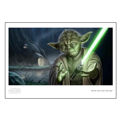 Star Wars Done For Now You Are Paper Giclee Print