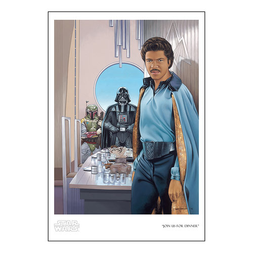 Star Wars Join Us for Dinner by Dave Nestler Paper Giclee