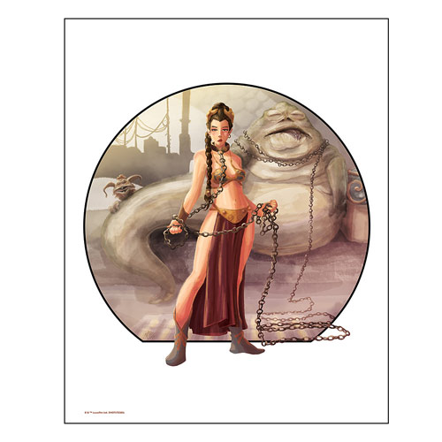 Star Wars Imprisoned by Penelope Gaylord Lithograph