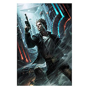 Star Wars Ahead of the Odds Raymond Swanland Canvas Giclee