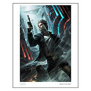Star Wars Ahead of the Odds Raymond Swanland Paper Giclee