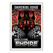 Star Wars Aces of the Empire by Mike Kungl Canvas Giclee
