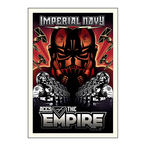 Star Wars Aces of the Empire by Mike Kungl Gallery Wrapped Canvas Giclee Art Print