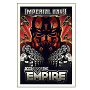 Star Wars Aces of the Empire by Mike Kungl Paper Giclee