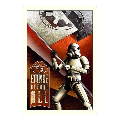 Star Wars Empire Before All Small Paper Giclee Print
