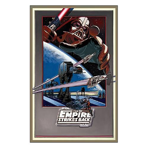 Star Wars Empire Revisited Fine Art Lithograph