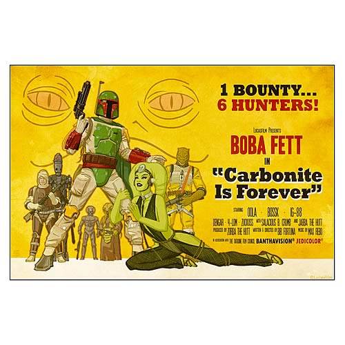 Star Wars Carbonite Is Forever Paper Giclee Print