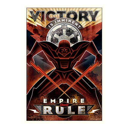 Star Wars Victory Is Imminent Paper Giclee Print