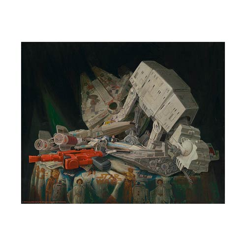 Star Wars Stuff That Dreams Are Made Of Paper Giclee Print