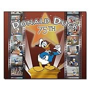Donald Duck 75th Anniversary Hand Painted Cel