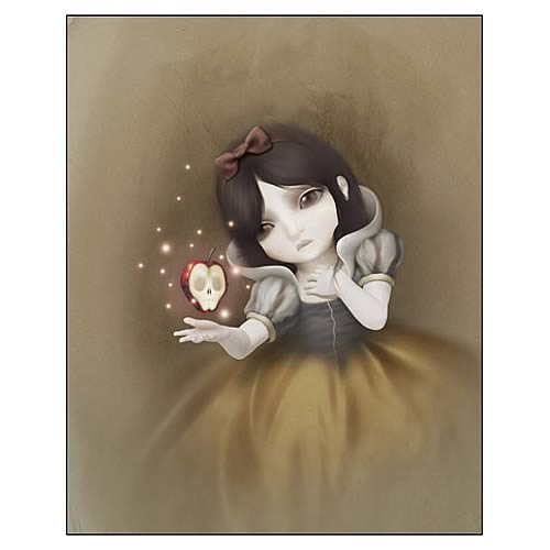 Snow White Canvas Giclee Print