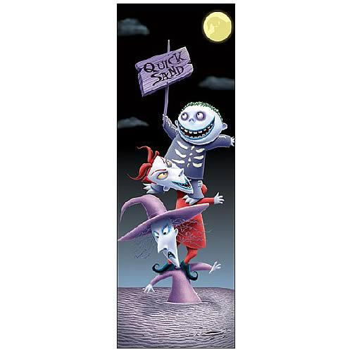 NBX No Fun Without a Scare Paper Giclee Print