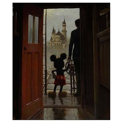 Disney Sharing a Dream Canvas Giclee Print