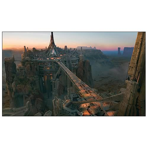 John Carter Helium Procession Concept Art Canvas Print