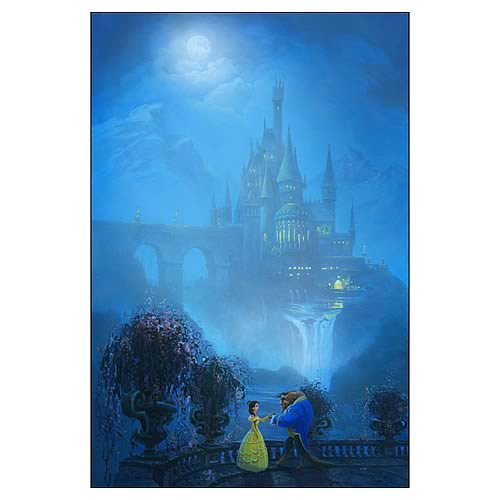 Disney Limited Beauty and the Beast Belle of the Ball Giclee
