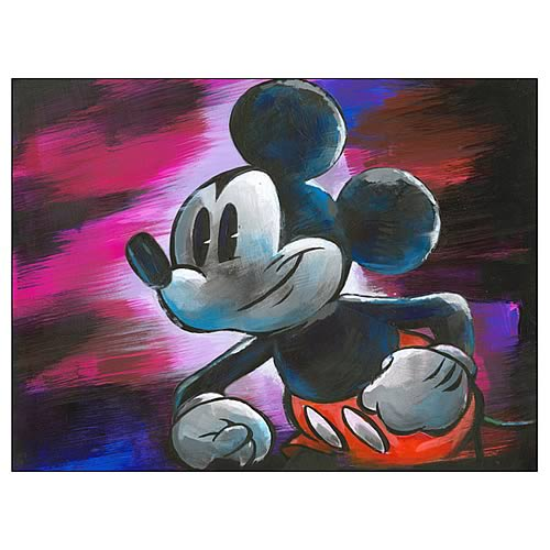 Disney Underground Pop Mickey Mouse Canvas Giclee Print