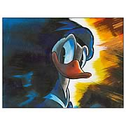 Disney Underground Pop Donald Duck Canvas Giclee Print