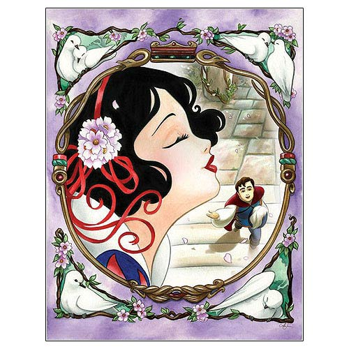 Snow White One Song Disney Canvas Giclee Print