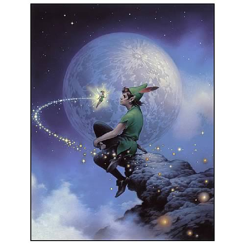 Peter Pan Always Together Paper Giclee Print Acme