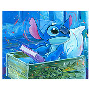 Lilo & Stitch A Bedtime Story Disney Canvas Giclee Print