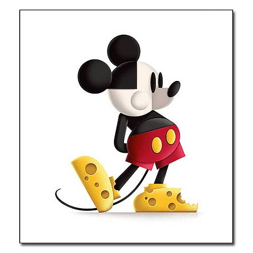Disney Underground Mickey Mouse Say Cheese Giclee Print
