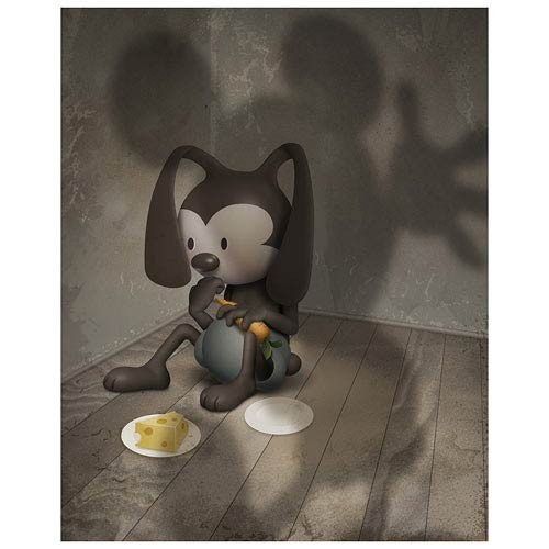 Oswald the Lucky Rabbit Living in Your Shadow Paper Giclee