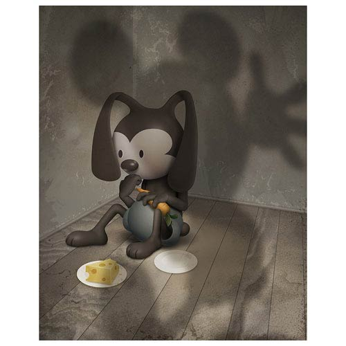 Oswald the Lucky Rabbit Living in Your Shadow Canvas Giclee