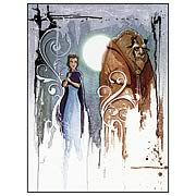 Disney Underground Beauty & the Beast Curse Canvas Giclee