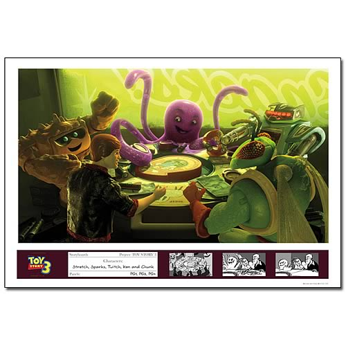 Toy Story 3 Lotso's Gang Limited Edition Paper Giclee Print