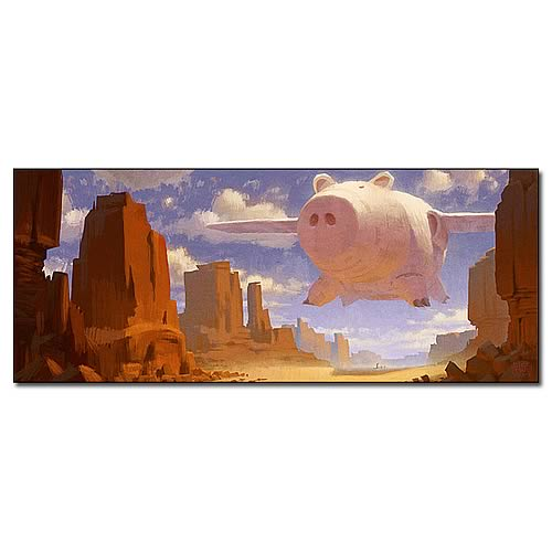 Toy Story 3 Hamm Air Limited Edition Canvas Giclee Print