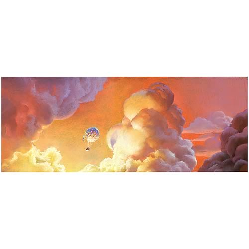 Disney-Pixar Up Adrift In The Clouds Paper Giclee Print