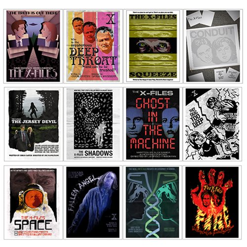 The X-Files Season 1 Lithograph Art Print 12-Pack Set 1
