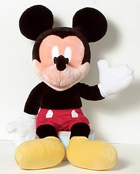 Mickey Jumbo Plush Doll
