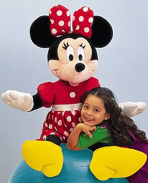 Minnie Jumbo Plush Doll