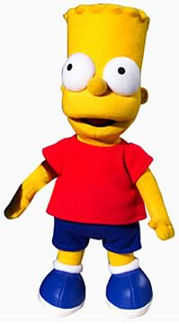 Bart Simpson 14-inch Plush