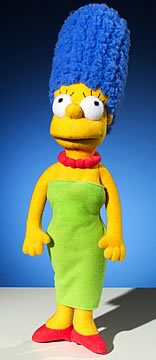 17 inch Plush Marge Simpson